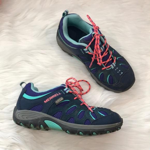 f350f7d5ae Merrell Shoes   Girls Waterproof Hiking Boots Size 1   Poshmark